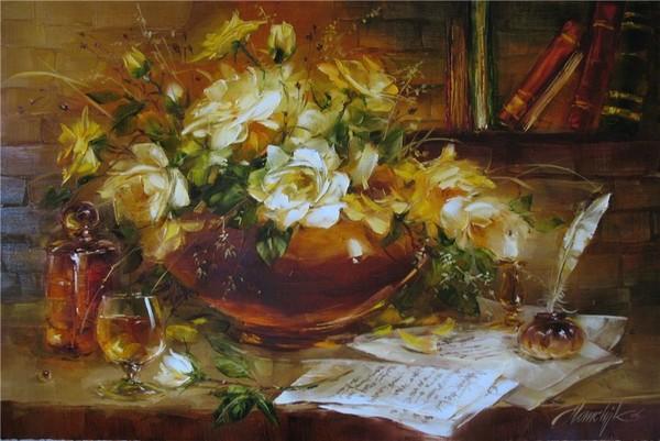 trés belles toiles de Homchik Anna