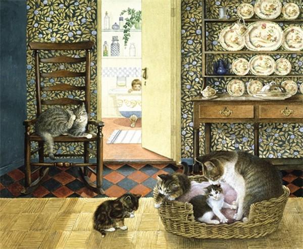 Magnifiques toiles de Lesley Anne Ivory