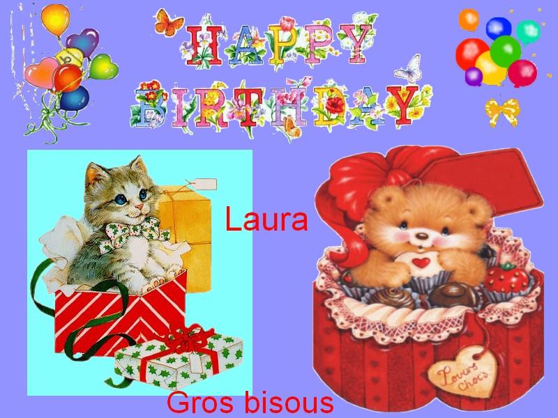 Joyeux Anniversaire Laura