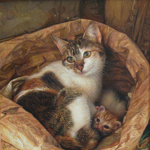 peintures de Chats