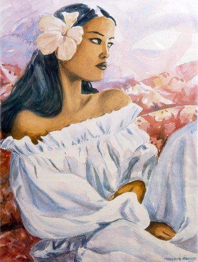 peintre de TAHITI