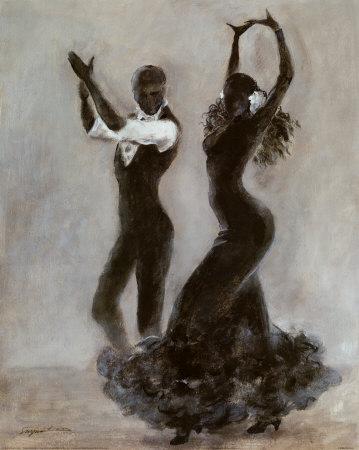 Peintures sur la danse page 3 - Danseuse flamenco dessin ...