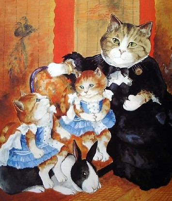 merveilleux chats de Susan Herbert (suite )