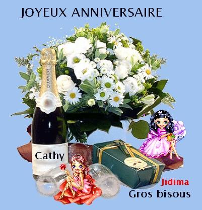 Joyeux Anniversaire Cathy