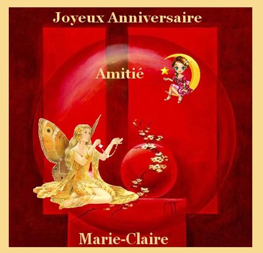 Joyeux Anniversaire Marie Claire