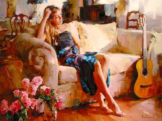 La Journee De La Femme En Peinture